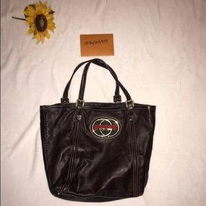 GUCCI GG Brown Shoulder Bag